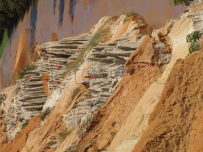 Wąwóz rzeczki Suoi Tien