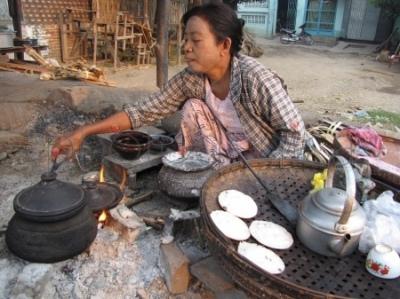 Śniadanie na ulicy