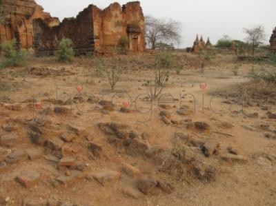 Ruiny w Bagan