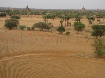 Widok z Pyathada Paya