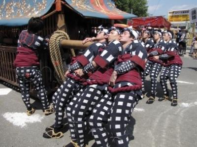 Festiwal Dekimachi Tenno-sai w Nagoi