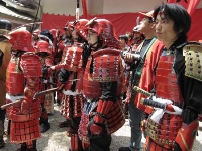 Festiwal w chramie sintoistycznym Syasui Jinja w Osace